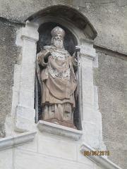 Eglise Saint-Savinien-le-Jeune - Français:   Église Saint-Savinien-le-Jeune de Sens: statue de saint Savinien.