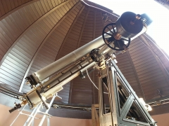 Observatoire Camille Flammarion - English:   Lunette de Camille Flammarion, à l\'observatoire de Juvisy