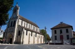 Église Saint-Vincent-Saint-Germain -  Eglise de Saint-Germain-lès-Corbeil et ancienne mairie, Saint-Germain-lès-Corbeil, Essonne, France