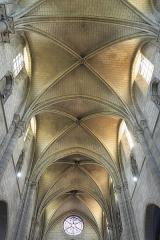 Église Saint-Vincent-Saint-Germain - Deutsch: Katholische Pfarrkirche Saint-Vincent-Saint-Germain in Saint-Germain-lès-Corbeil im Département Essonne (Region Île-de-France/Frankreich), Gewölbe