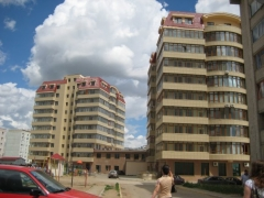 Maison et atelier du sculpteur Joseph Bernard - English: New buildings in Aktobe