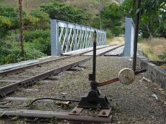 Infrastructures ferroviaires -  pont après restauration (côté Est)