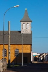 Eglise Notre-Dame des Ardilliers - English: Miquelon in the archipelago of Saint Pierre and Miquelon , Northern America french islands
