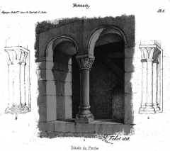 Eglise - Français:   dessin issue de \