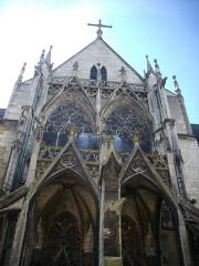 Eglise Saint-Urbain - Basilique Saint-Urbain de Troyes (Aube,  France): façade occidentale