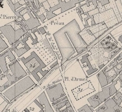 Hôtel-Dieu - Français:   plan du centre ville