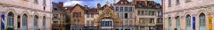Hôtel-Dieu - English: Hôtel Dieu-le-Comte in Troyes, courtyard (cour d'honneur)