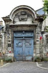 Hôtel de Vauluisant - Nederlands: Troyes (departement Aube, Frankrijk): de poort van het stadspaleis (thans museum) Hôtel de Vauluisant