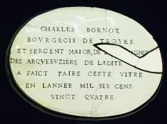 Hôtel de Vauluisant - présenté au musée de Vauluisant de Troyes.
