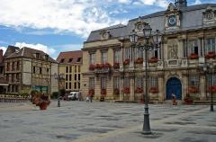 Hôtel de ville -  Grande Place in Troyes, France