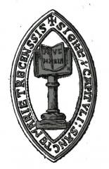 Préfecture de l'Aube (Hôtel de Département) - Français:   SCeau abbaye notre dame de l\'Aube.