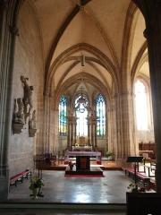 Eglise - Français:   Attigny (Ardennes, France) , intérieur de l\'église Notre-Dame.