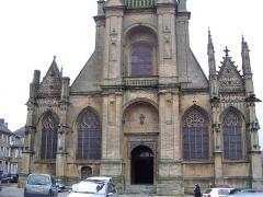 Basilique Notre-Dame de l'Espérance -  Façade de l\'église Notre Dame De Mézières Charleville Mézières Ardennes France