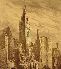 Basilique Notre-Dame de l'Espérance -  la cathédrale de Mézières