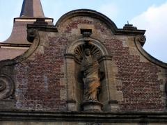 Eglise Saint-Rémi de Laval-Dieu - Français:   Vue de détail, abbaye de Laval Dieu, Monthermé (France)