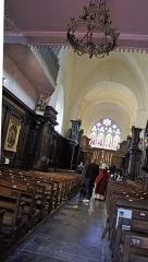 Eglise Saint-Rémi de Laval-Dieu - Français:   L\'intérieur de l\'église de l\'abbaye de Laval Dieu .