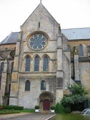 Eglise abbatiale Notre-Dame - Portail nord Abbatiale Mouzon Ardennes France