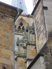 Eglise abbatiale Notre-Dame - Detail exterieur Abbatiale Mouzon Ardennes France