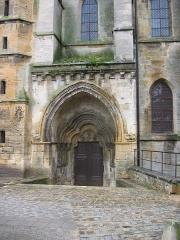 Eglise abbatiale Notre-Dame - Portail sud Abbatiale Mouzon Ardennes France