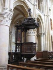 Eglise abbatiale Notre-Dame - Chaire Abbatiale Mouzon Ardennes France