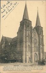 Eglise abbatiale Notre-Dame - Mouzon (Ardennes - France) - La basilique - en 1875