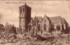 Eglise Saint-Nicolas - Deutsch: Rethel - Kirche mit Trümmern