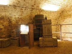 Château-haut -  Château de Sedan. Storage rooms