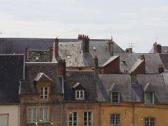 Château-haut -  view from Château de Sedan