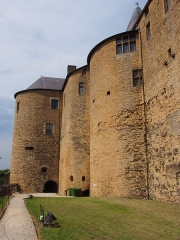Château-haut -  Château de Sedan