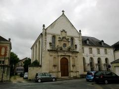 Couvent de Vinetz -  Marne Chalons-En-Champagne Prieure De Vinetz Chapelle Facade 21062016