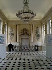 Hôtel de ville -  Marne Chalons-En-Champagne Mairie Escalier Expo Le Papyrus De Cesar 21062016