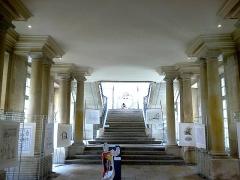 Hôtel de ville -  Marne Chalons-En-Champagne Mairie Peristyle Expo Le Papyrus De Cesar 21062016