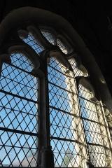 Eglise Saint-Alpin - Deutsch: Katholische Kirche Saint-Alpin in Villevenard im Département Marne in der Region Grand Est/Frankreich, Maßwerkfenster