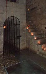 Aqueduc des Eaux de Rungis (également sur communes de Rungis, L'Hay-les-Roses, Cachan, Arcueil, Gentilly et Paris 14) - A l'intérieur du regard n°2 de l'aqueduc Médicis (Rungis, Val-de-Marne, France)