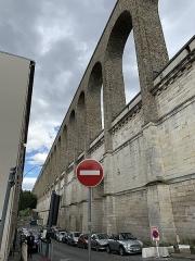 Aqueduc des Eaux de Rungis (également sur communes de Rungis, Fresnes, Cachan, Arcueil, Gentilly et Paris 14) - Français:   Aqueduc Médicis, Arcueil.