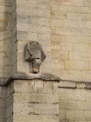 Aqueduc des Eaux de Rungis (également sur communes de Rungis, Fresnes, Cachan, Arcueil, Gentilly et Paris 14) -  Arcueil, France  détail d'une sculture sur l'aqueduc Médicis