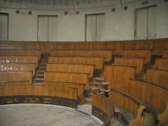 Ecole nationale vétérinaire -  Le plus vieil amphithéâtre de l'école vétérinaire de Maisons-Alfort France