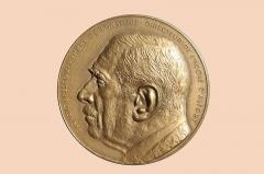 Ecole nationale vétérinaire - English: Médaille.BRESSOU (endroit) Médaille offerte à Clément Bressou (1887-1979),  vétérinaire, professeur d'anatomie à l'École nationale vétérinaire de Toulouse puis à celle d'Alfort, directeur de l'École vétérinaire d'Alfort