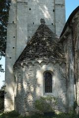 Eglise Saint-Julien-de-Brioude - Deutsch: Katholische Pfarrkirche Saint-Julien-de-Brioude in Marolles-en-Brie im Département Val-de-Marne (Île-de-France/Frankreich), südliche Seitenapsis