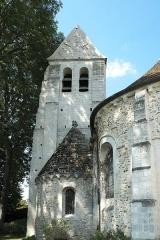 Eglise Saint-Julien-de-Brioude - Deutsch: Katholische Pfarrkirche Saint-Julien-de-Brioude in Marolles-en-Brie im Département Val-de-Marne (Île-de-France/Frankreich)
