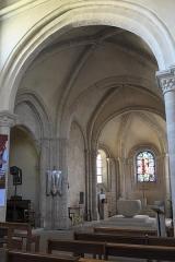 Eglise Saint-Julien-de-Brioude - Deutsch: Katholische Pfarrkirche Saint-Julien-de-Brioude in Marolles-en-Brie im Département Val-de-Marne (Île-de-France/Frankreich), Chor