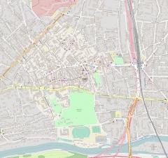Eglise Saint-Saturnin - Français:   Géolocalisation et emplacement de l\'église Saint-Saturnin, à Nogent-sur-Marne.