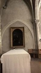 Eglise Saint-Saturnin - Français:   Tableau représantant une vierge à l\'enfant, église Saint-Saturnin, Nogent-sur-Marne.