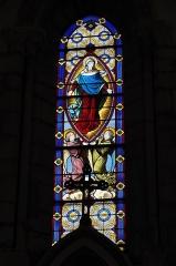 Eglise Saint-Martin - Deutsch: Katholische Pfarrkirche Saint-Martin in Sucy-en-Brie im Département Val-de-Marne (Île-de-France/Frankreich), Bleiglasfenster