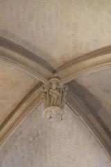 Eglise Saint-Cyr-Sainte-Julitte - Deutsch: Katholische Pfarrkirche Saint-Cyr-Sainte-Julitte in Villejuif im Département Val-de-Marne (Île-de-France/Frankreich), Schlussstein