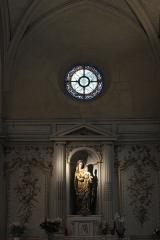Eglise Saint-Cyr-Sainte-Julitte - Deutsch: Katholische Pfarrkirche Saint-Cyr-Sainte-Julitte in Villejuif im Département Val-de-Marne (Île-de-France/Frankreich), Altar im rechten Seitenschiff