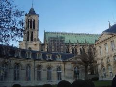 Ancienne abbaye Saint-Denis, actuellement maison d'éducation de la Légion d'Honneur - Français:   Saint-Denis (Seine-Saint-Denis)- Basilique - Vue de la maison d\'éducation de la Légion d\'honneur