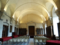Ancienne abbaye Saint-Denis, actuellement maison d'éducation de la Légion d'Honneur - Français:   Abbaye - Aile est - Ancienne salle du roi