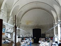 Ancienne abbaye Saint-Denis, actuellement maison d'éducation de la Légion d'Honneur - Français:   Abbaye - Aile est - Ancienne salle capitulaire, actuelle salle de dessin