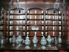 Carmel -  Apothicairerie de l\'ancien Hôtel-Dieu de Saint-Denis, reconstituée au Musée d\'Art et d\'Histoire de la ville
